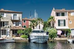 Порт и гавань в St Tropez Стоковая Фотография