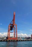 Порт и контейнерный терминал Haydarpasa в гареме Стамбуле Стоковая Фотография RF