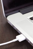 Порт кабеля USB Стоковые Изображения RF