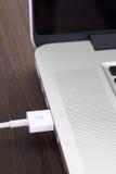 Порт кабеля USB Стоковые Изображения