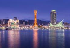 Порт Кобе, Японии Стоковые Фото