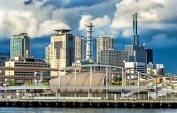 Порт Кобе - Японии стоковое фото rf