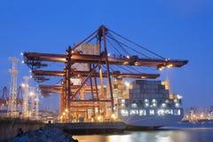 Порт контейнера в Гонконге Стоковая Фотография RF