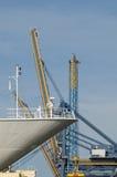 Порт контейнера Стоковое Фото