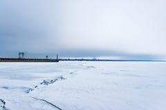 Порт Ленина Стоковое Изображение