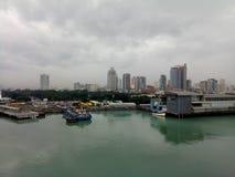 Порт Манилы стоковые изображения