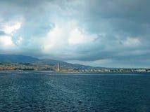 Порт Мессины Стоковые Фото