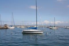 порт Мичигана озера шлюпок Стоковая Фотография RF