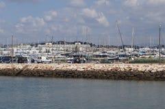 Порт на юге  Португалии - Европы Стоковая Фотография