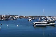 Порт на юге  Португалии - Европы Стоковое Изображение RF