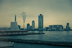 Порт Осака Стоковые Фото