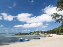 Порт острова Ла Digue Стоковая Фотография