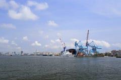 Порт острова cijin Стоковая Фотография RF