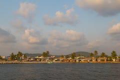 Порт острова Phu Quoc, Вьетнама стоковые фотографии rf