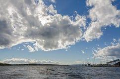 Порт Осло стоковое изображение
