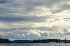 Порт Осло Стоковые Изображения