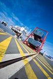 порт парома calais стоковая фотография rf