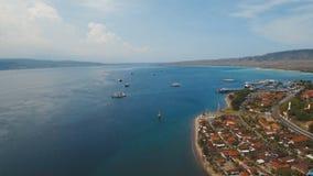 Порт пассажирского парома моря, Gilimanuk Бали, Индонезия Стоковая Фотография RF
