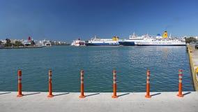 Порт Пирея Стоковые Изображения RF