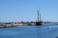 Порт Португалии - юг Португалии Стоковое фото RF