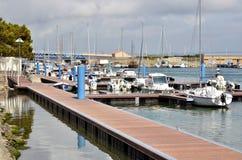 Порт Порт-Ла-нового в Франции стоковые фотографии rf