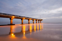 порт пристани elizabeth Стоковая Фотография RF