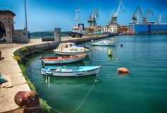 Порт пул Стоковая Фотография RF
