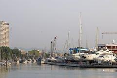 Порт Римини шлюпок и яхт Стоковое фото RF