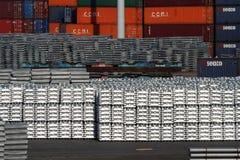 Порт Роттердам Стоковое Изображение RF