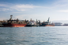 Порт Сантоса, Бразилии стоковые изображения rf