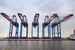Порт Гамбурга стоковая фотография