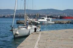 Порт Триеста стоковое фото