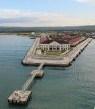 Порт Фолмута ямайки стоковые изображения rf