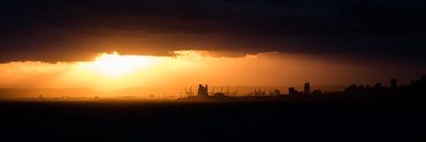 Порт Хайфы Стоковые Изображения RF
