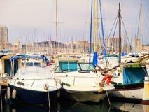 Порт яхты, марсель Стоковые Изображения RF