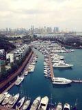 Порт яхты стоковое фото rf