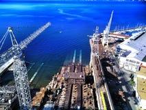 порт Стоковая Фотография