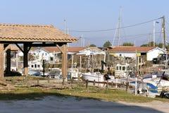Порт Ares в Франции Стоковая Фотография