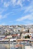 порт athens стоковая фотография rf
