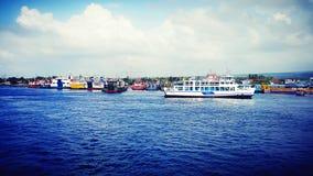 Порт Banyuwangi Ketapang Стоковая Фотография RF