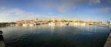 порт barcelona Стоковое Фото