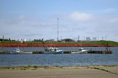 Порт Borden Остров Принца Эдуарда стоковые изображения rf