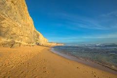 Порт Campbell: Гибсон шагает пляж Стоковое Фото