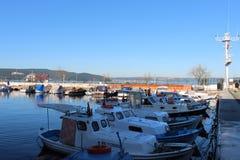 Порт Canakkale стоковое фото rf