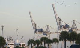 Порт Canaveral Флорида стоковая фотография
