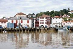 Порт Ciboure Стоковая Фотография