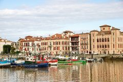 Порт Ciboure Стоковые Изображения