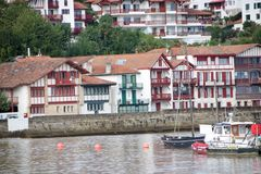 Порт Ciboure Стоковое Изображение