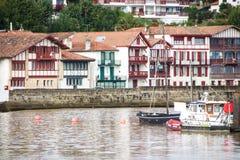 Порт Ciboure Стоковое фото RF