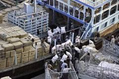 порт deira деятельности стоковая фотография rf